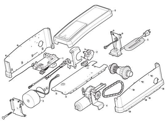 Liftmaster Jackshaft Model Rjo 3800 Parts