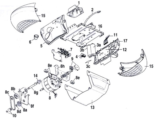 Sears Craftsman Garage Door Openers Parts Dandk Organizer