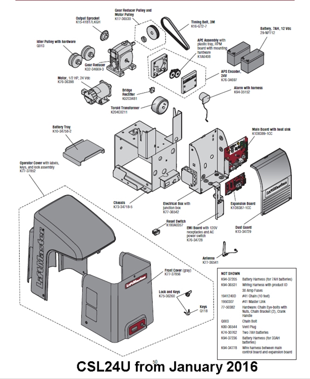 liftmaster la400 wiring diagram
